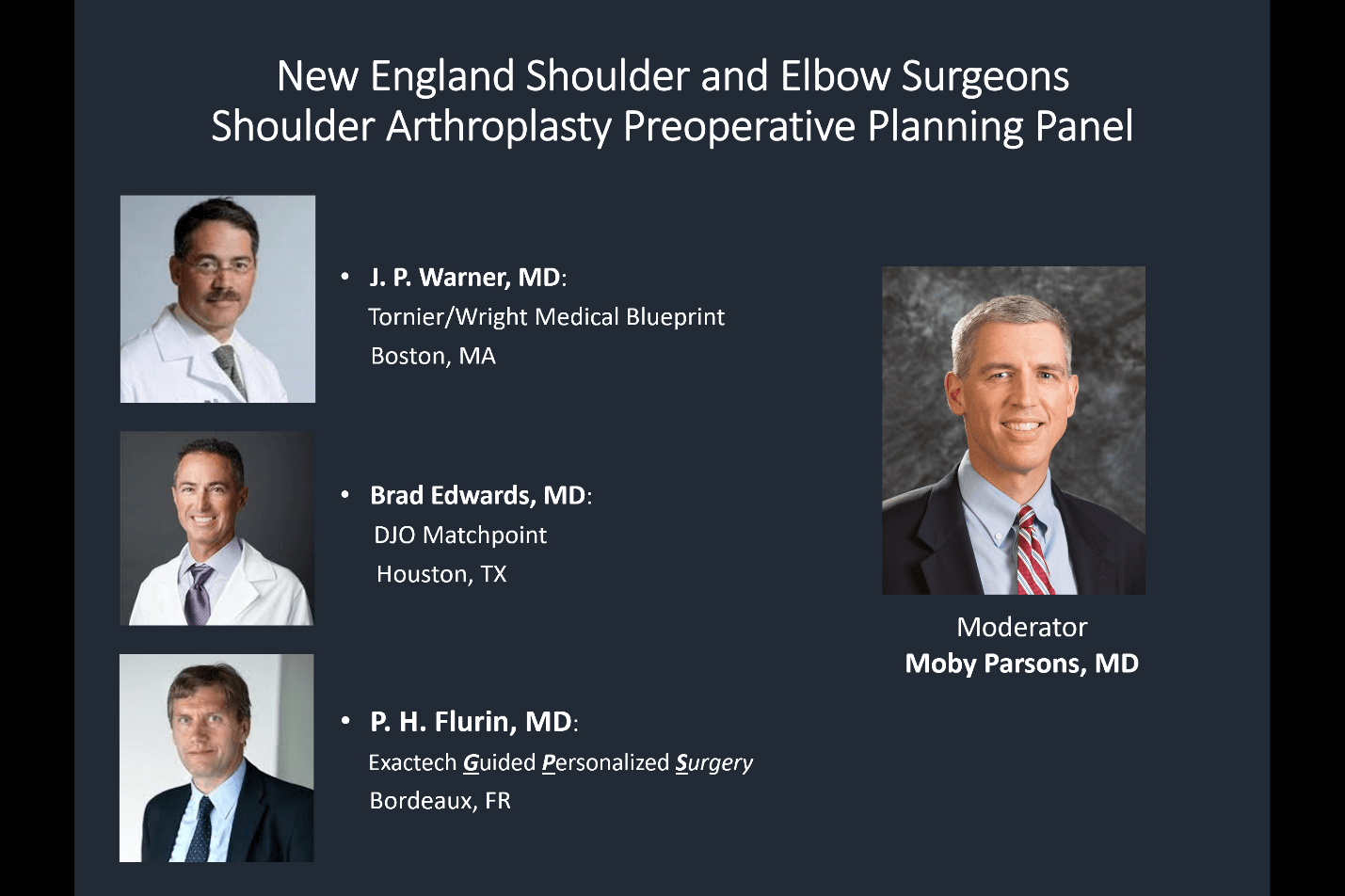guided personalized shoulder replacement surgery