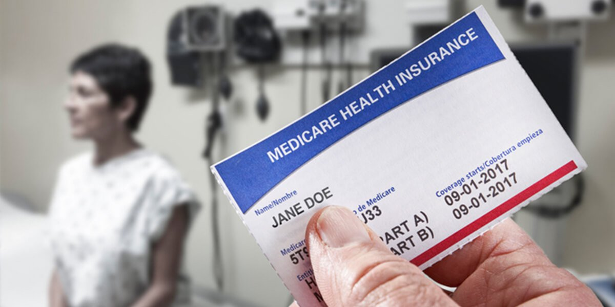 medicare health card in front of patient - best joint replacement surgeons in portsmouth nh