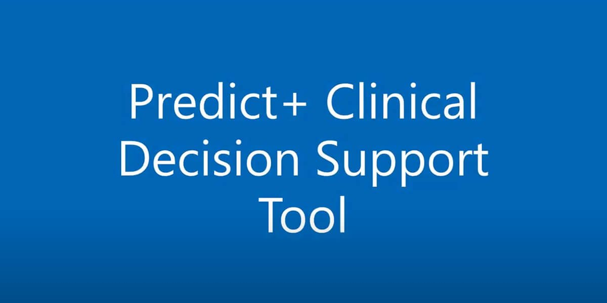 predict+ clinical decision screen - best shoulder replacement surgery doctors portsmouth nh